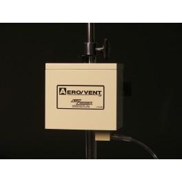 Aero/Vent Jr.TM Portable Shield - Pole Mount/Table Top, Aluminum