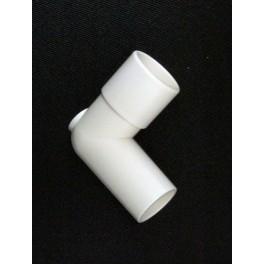 Adapter: Elbow 22mm OD x 22mm ID, 3/pk